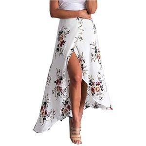 Sexy and Whimsical Summer Wrap Skirt!